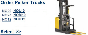 Select Cat Order Picker Trucks