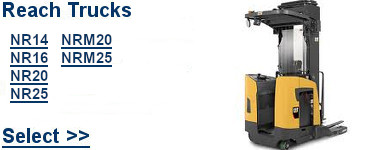 Select Cat Reach Trucks